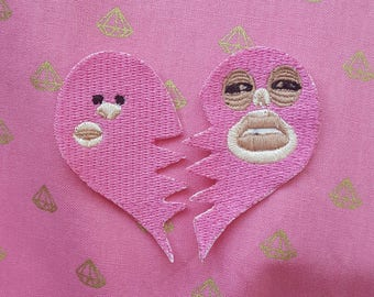 Monster Factory Jaa'm best friends patch, Mcelroys good dog boy patches