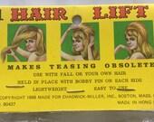 Reserved for Margarita Gonzalez--1960s Hair Styling, Roller, Curler, Bouffant, Beehive, 60s Hair Lift, Hair Bump, Hair Foundation 1968