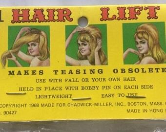 1960s Hair Styling, Roller, Curler, Bouffant, Beehive, 60s Hair Lift, Hair Bump, Hair Foundation 1968