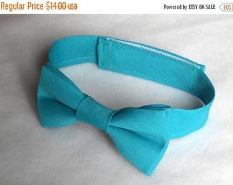 SALE Teal Bowtie - Infant, Toddler, Boys - 2 weeks before shipment