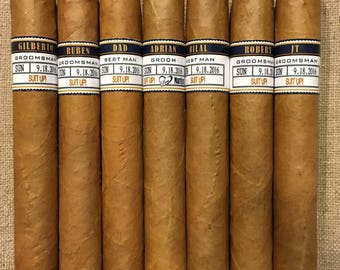Private Listing for idosprouled Groomsman Cigar Bands - Grooms Gift - Wedding Party and Groomsman Cigar Bands