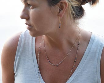 """Georgia"" Gemstone  Necklace"