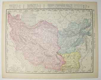 Middle east map Etsy