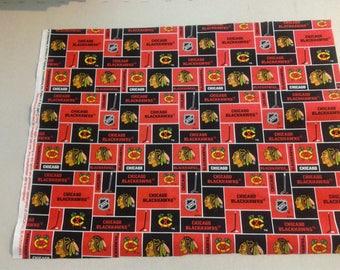 Chicago Blackhawks fabric 248034