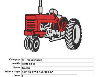 Embroidery Machine File  29041-03-05 Tractor