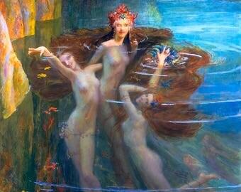 Le Chant des Sirènes Perfume Oil - Beachgrass, Ocean ozone, White musk, Rock rose, White patchouli, Magnolia