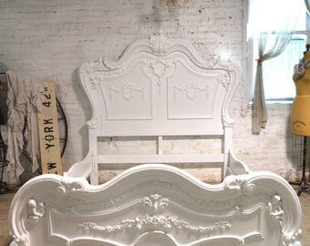 Painted Cottage Shabby Chic Romantic Angel Bed