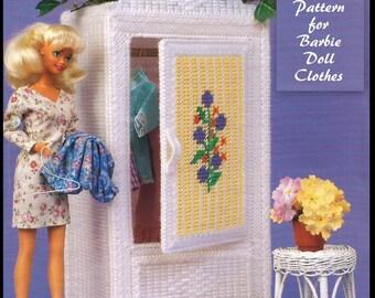 Barbie Wardrobe Pattern - Plastic Canvas - PDF911718