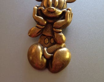 Articulated Mickey Mouse Brooch