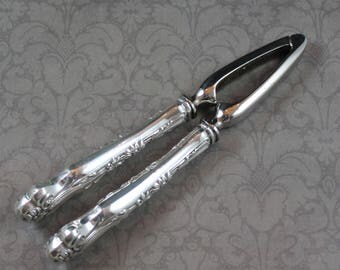 Vintage Sterling Silver Handle Nutcracker