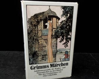 German Language Books Grimm's Fairy Tales Boxed Set - Slip Case Paperbacks - Children's Books In German