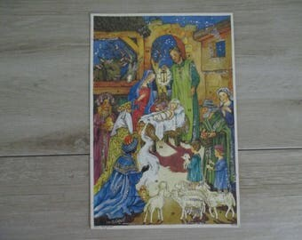 Vintage Advent Calendar West Germany New Condition