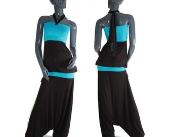 Harem pants combination customizable color choices