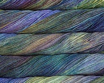 Malabrigo Sock Indiecita 416 100% Superwash Merino Wool Yarn