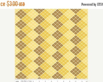 last call Indie Chic Checkers Yellow by My Minds Eye Riley Blake Designs, 1/2 yard