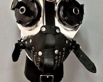 Gas Mask - Slave - White