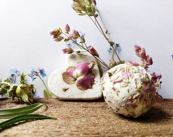 Oregano Flora Seed Bombs Hearts and Balls with Wildflower Seed To attract bees and butterflies 16 Gift for Bridesmaids