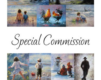 RESERVED for Nicole Art Prints for Child Services  Vickie Wade art
