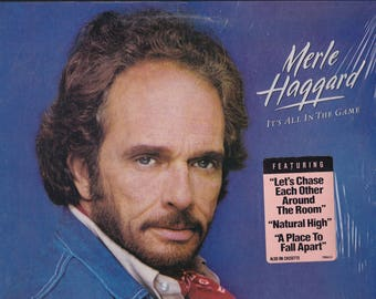 Merle Haggard It's All In The Game 1984 Epic LP Record Music Songs