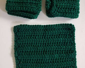Dishcloths Washcloths Set of 3.