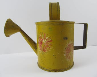 Vintage Toy Metal Watering Can