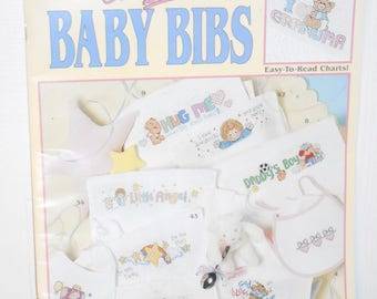 Our Best Baby Bibs Leisure Arts Counted Cross Stitch Book