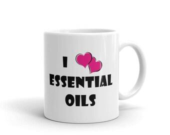 I Love Essential Oils Mug