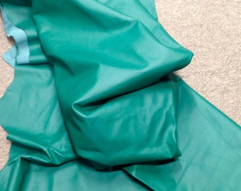 6-911.  Kelly Green Leather Cowhide Partial