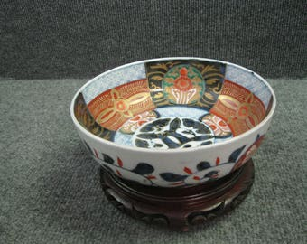 "7-1/2"" dia. Japanese Antique Imari Bowl"