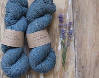 cutch + indigo DK weight wool yarn