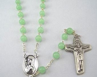 Light Green Rosary (125)