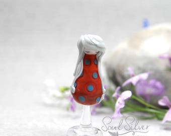 Mini Lost Girl - Doll Bead