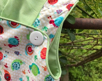 Little Boy Short Over-Alls--Play Clothes in Cute Cotton Print Fabrics-Little Boy Dressy Playwear---American Made Children's Clothes