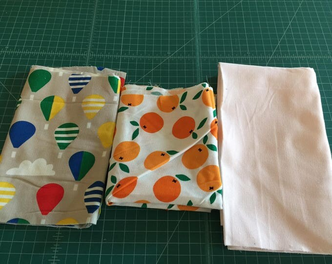 Scrap Pack - Organic Corduroy Fabric