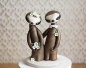 Sloth Wedding Cake Topper by Bonjour Poupette