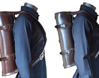 Parachuter Bag //  Leather Backpack // DE BRUIR