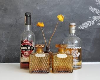 Vintage Scotch & Rye Decanter Set | Scotch Decanter | Vintage Barware | Vintage Mixology | Scotch Rye Whiskey Decanter | Vintage Decanter