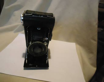 Vintage Kodak Folding Camera With Dak Shutter, collectable