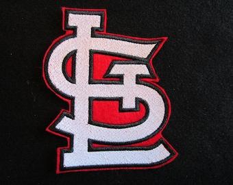 St. Louis Cardinal Logo Patch, STL Logo Patch, Iron On Patch, Cardinals Patch, St. Louis Cardinals Patch, Baseball