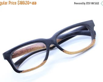 20% off SUMMER SALE Aaa Autumn Paris  Two Tone Rosewood Custom Prescription Sunglasses Galsses Only One