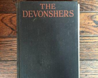 Vintage 1924 The Devonshers Book Honore Willsie Morrow