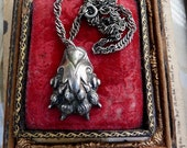 Antique French Lion Paw Amulet, Talisman for the Passionate, by RusticGypsyCreations