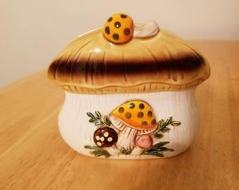 Vintage Mushroom Napkin Holder