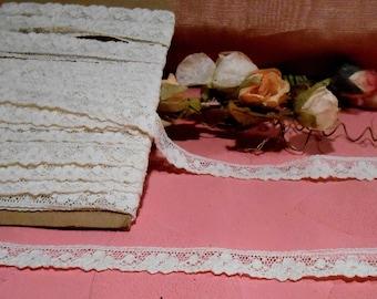 Antique Lace French Cotton Doll Trim