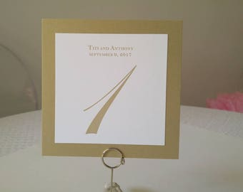Special order for Custom Table Numbers
