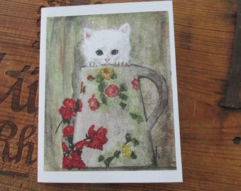 Pitcher of Love notecard