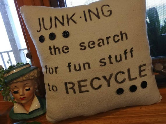 decorative pillow with junking definition
