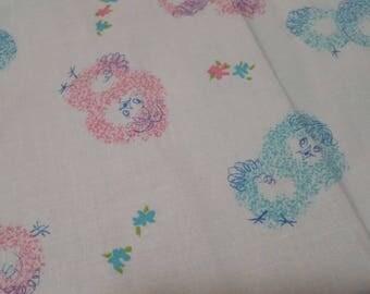 Chicks Toddler Pillowcase blue pink