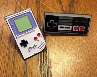 Enamel Pin Nintendo Game Boy Nintendo Controller Nintendo Enamel Pin 8 Bit Art Nintendo Pin Video Game Enamel Pin Video Game Pin NES Pin