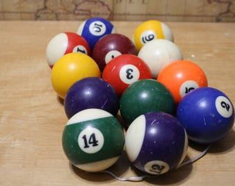 Pool Balls - 13 pcs - item #2625